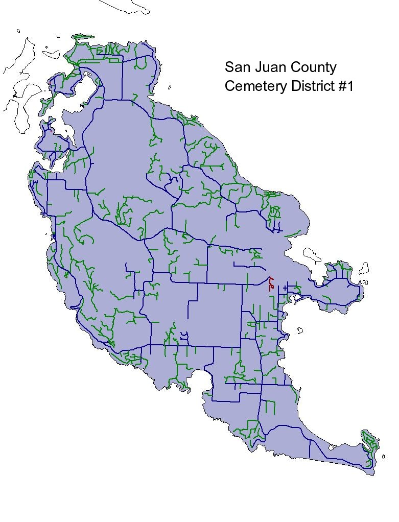 precincts and district maps san juan county wa