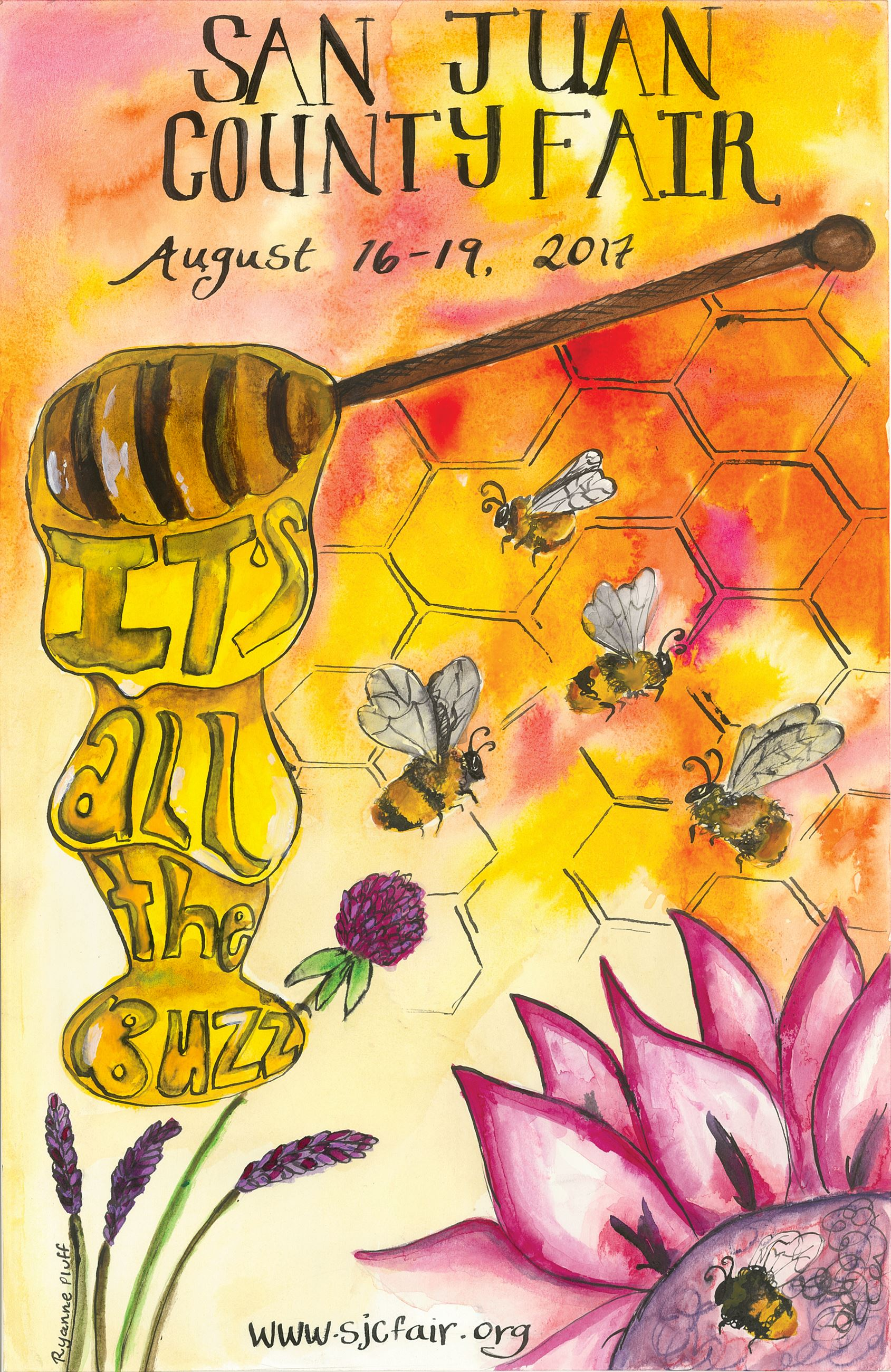 2017 San Juan County Fair Poster_by Ryanne Pluff