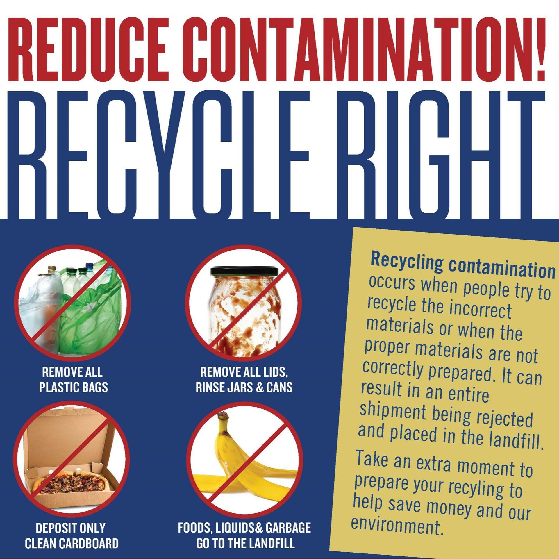 San Juan County Recycle Right Flier