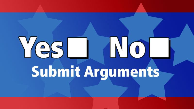Yes No Submit Arguments