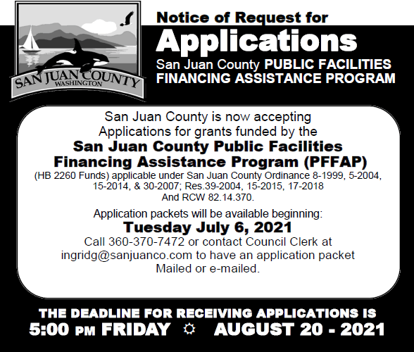 Public Facilities Finacing Assistance Program