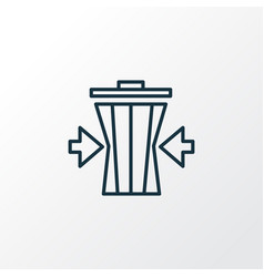 reduce-waste-icon-line-symbol-premium-quality-vector-21695376