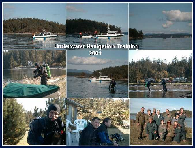 Underwater Navigation Training